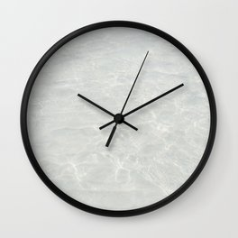 Wide Awake Wall Clock