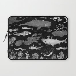 Dangers of the Deep Unknown Laptop Sleeve