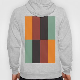 Stripes and swatches Hoody