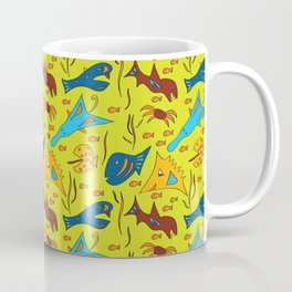 Crazy Fish Coffee Mug