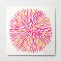 Watercolor Burst – Pink Ombré by catcoq
