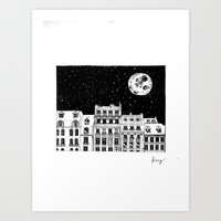 Over the City Art Print