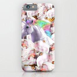 Epic Unicorn Ice Cream iPhone Case