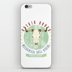 cowgirls wanted iPhone & iPod Skin