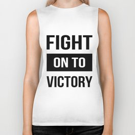 Fight on to Victory USC Trojans america Biker Tank