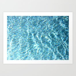 Swimmingpool #2 Art Print