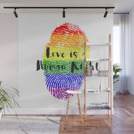 Love is Human Right Wall Mural