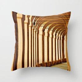 Portico di San Luca Throw Pillow
