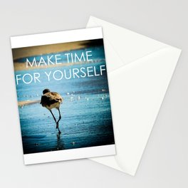 Make Time For Yourself Stationery Cards