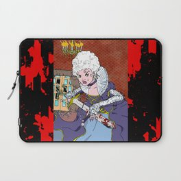 Jeannette-Marie, Zombie Slayer of Marseille Laptop Sleeve
