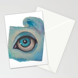 all just eyes IIe Stationery Cards