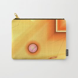 Geometric abstract orange no. 1 Carry-All Pouch