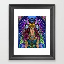 Queen Mother Goddess Framed Art Print