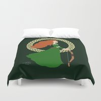 merida Duvet Covers featuring Merida  by Cantabile