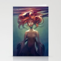 loish Stationery Cards featuring Mermaid by loish