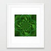 clover Framed Art Prints featuring Clover by Sartoris ART