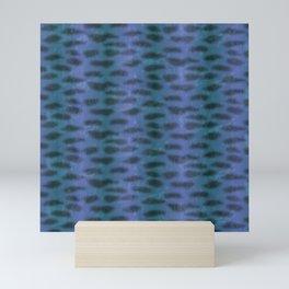 Tiger Shark Skin (Blue and Purple) Mini Art Print