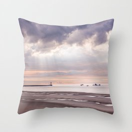 Dunkirk the move in the making Throw Pillow