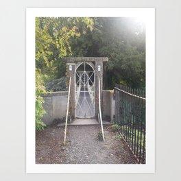 Secret Gate Art Print