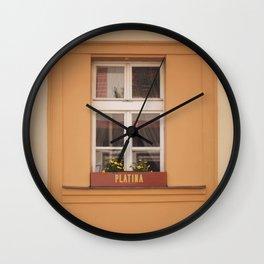 Platina Wall Clock