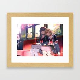 Friendship After Class Framed Art Print