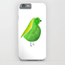 Little Green Bird iPhone Case