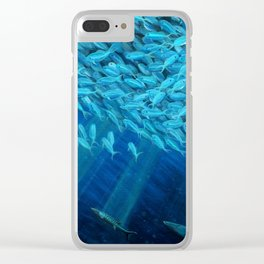 Oceans of Plenty Clear iPhone Case