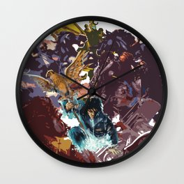 Heroes of Olympus Wall Clock