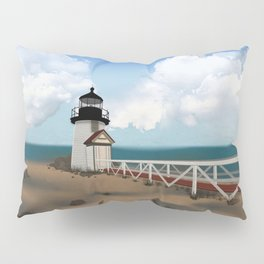 Brant Point Light Pillow Sham