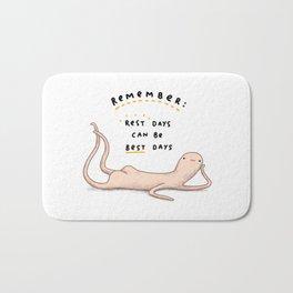 Honest Blob - Rest Days Bath Mat