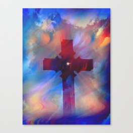 The Cross5 Canvas Print