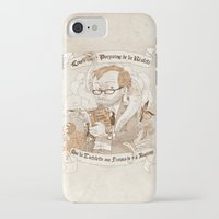 bouletcorp iPhone & iPod Cases featuring Autoportrait by Bouletcorp