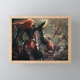 Gun Goddess Miss Fortune League of Legends Framed Mini Art Print