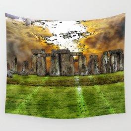 Henge at Sunsleep - Stonehenge Wall Tapestry
