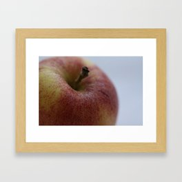 "Fruit Fine Art Print - Green, Yellow, Red Gala Apple Photo - Wall Art - Home Decor - ""Apple a Day"" Framed Art Print"