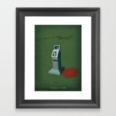 Breaking Bad - Peekaboo Framed Art Print