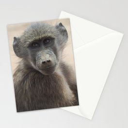 Baby Baboon Stationery Cards