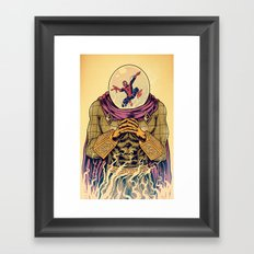 Mysterio Framed Art Print