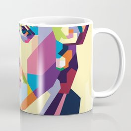 Immanuel Kant in Pop Art Coffee Mug