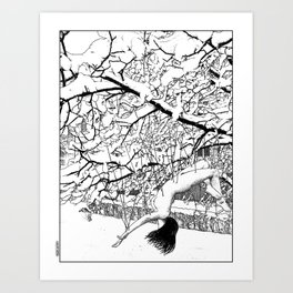 asc 564 - Le conte d'hiver (The winter tale) Art Print