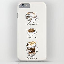 Slow Life Coffee iPhone Case