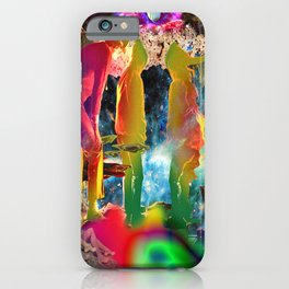 'Inner World Creates Outer & Looking Ultra Deep Within' iPhone Case