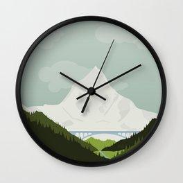 Nepal Wall Clock