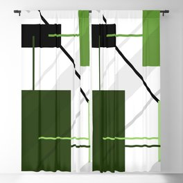 Angular Energy Blackout Curtain
