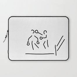 punch boxer boxing match Laptop Sleeve