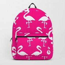 Hot Pink Flamingos Backpack