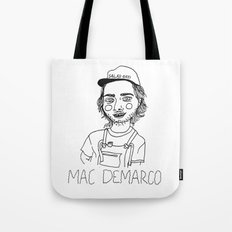 Mac DeMarco Tote Bag