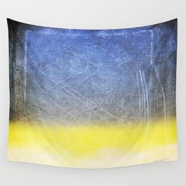 Reckoning of Cloudy Sunset Wall Tapestry