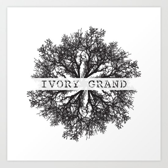 Ivory Grand Art Print