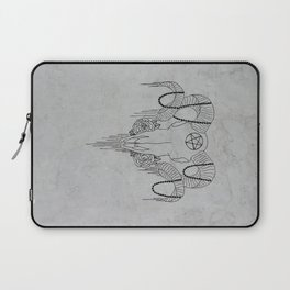 You and Me and the Devil makes 3 Laptop Sleeve